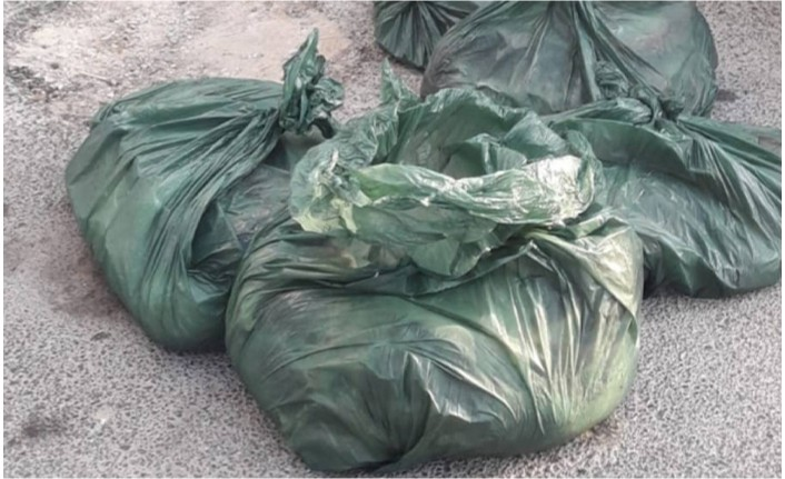 Beyarmudu'nda 310 kilo kaçak et bulundu