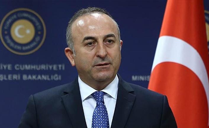 """Çavuşoğlu: """"hakça paylaşım için ortak bir çözümden yanayız"""""""
