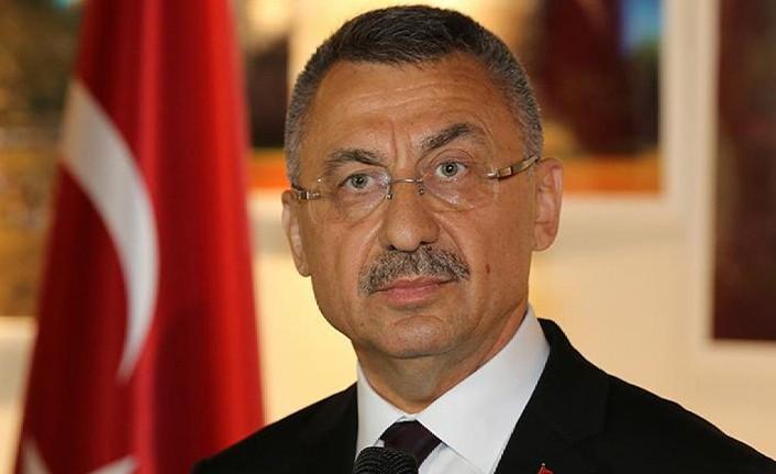 Cumhurbaşkanı Yardımcısı Oktay'dan ABD'nin Kıbrıs Rum Kesimi'ne yönelik silah ambargosunu kaldırmasına tepki
