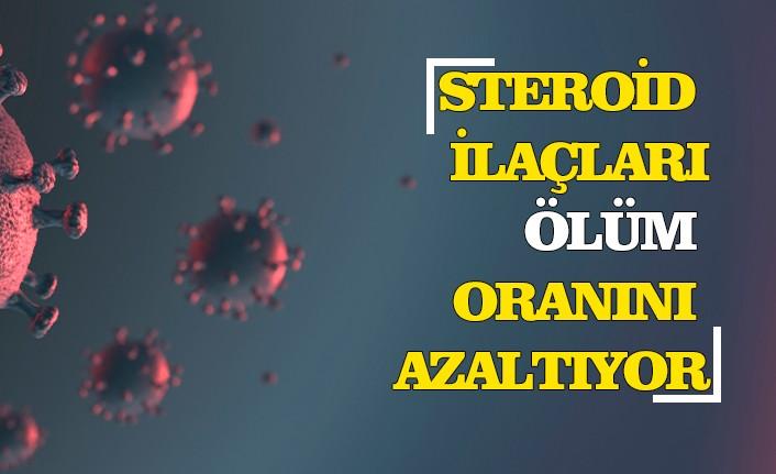 Kovid-19 araştırması: Steroid ilaçları virüs kaynaklı ölüm oranını azaltıyor