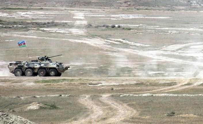 AZERBAYCAN ORDUSU, ERMENİSTAN'IN SALDIRI GİRİŞİMLERİNİ ÖNLEDİ
