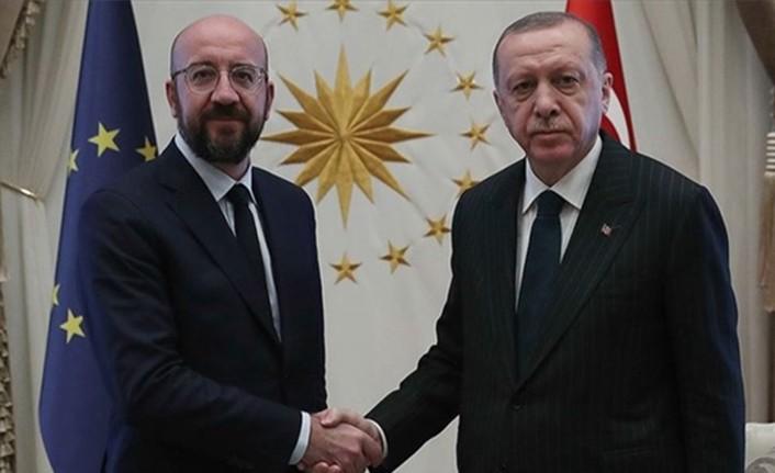 TC CUMHURBAŞKANI ERDOĞAN, AB KONSEYİ BAŞKANI MİCHEL'LE TELEFONDA GÖRÜŞTÜ