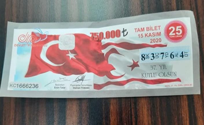 750 BİN TL'LİK BÜYÜK İKRAMİYE TALİHLİSİNE TESLİM EDİLDİ
