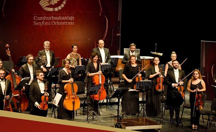 """CUMHURBAŞKANLIĞI SENFONİ ORKESTRASI """"CUMHURİYET KONSERİ"""" VERECEK"""