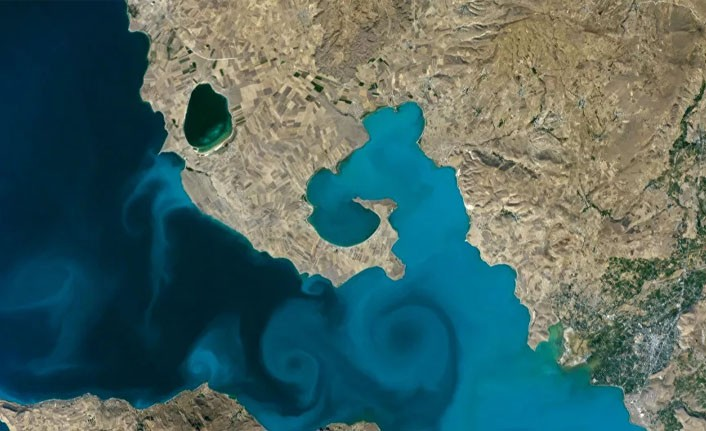 NASA'nın yarışmasında Van Gölü fotoğrafı yarı finalde: 28 rakibini eledi