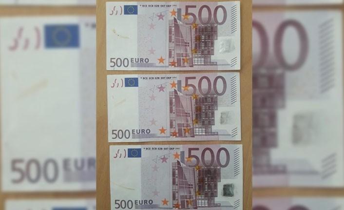 Sahte 500 Euro'luk bankonatlara dikkat!