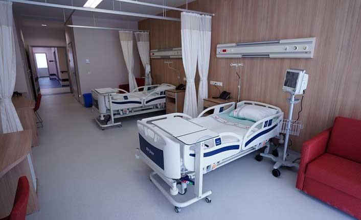 Acil Durum Hastanesi'nin yatak kapasitesi artırıldı