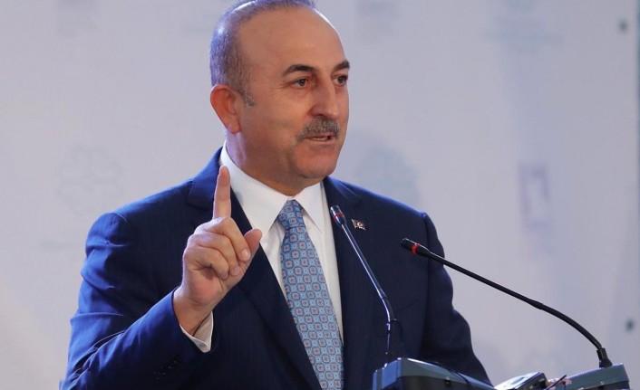 """Biden'ın """"sözde soykırım"""" çıkışına Çavuşoğlu'ndan tepki!"""