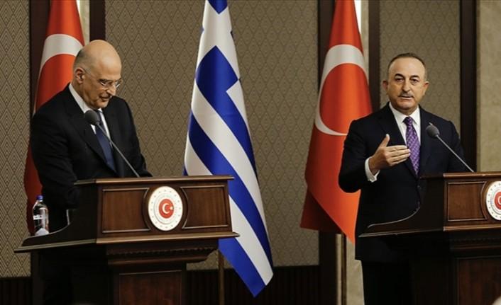 """Çavuşoğlu: """"Türkiye kendi haklarını ve Kıbrıs Türk halklarının haklarını korumaya muktedirdir"""""""