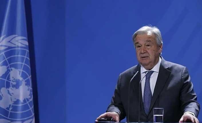 """Guterres: """"2-3 Ay içinde yeni bir görüşme planlıyoruz"""""""