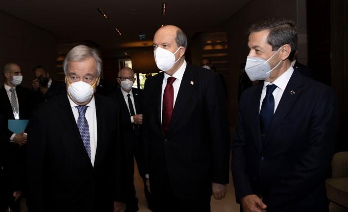 Guterres-Tatar görüşmesi sona erdi