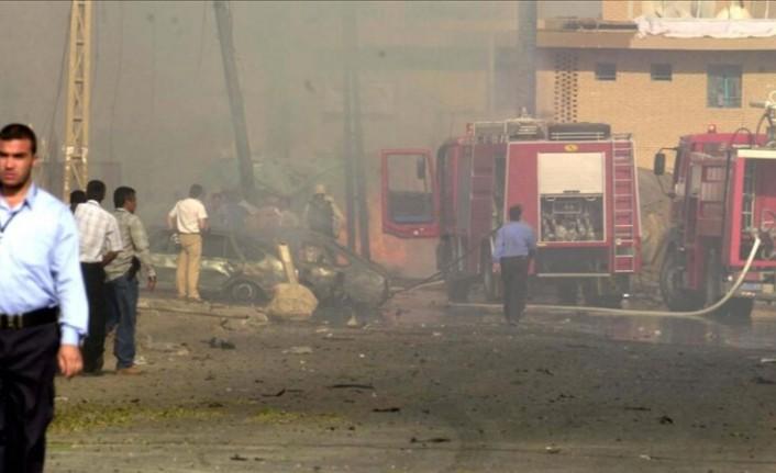 Irak'ın başkenti Bağdat'ta patlama: 1 ölü 12 yaralı