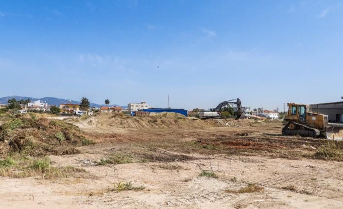 İskele kapalı pazar yeri ve terminal alanının yapımında başlandı