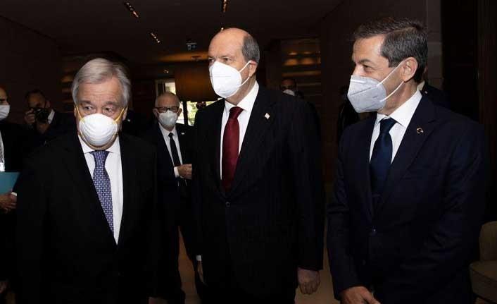 Kıbrıs Konferansı İkinci Gününde Cenevre'de Devam Ediyor