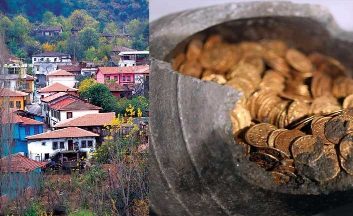 Köyde 20 yıl yetecek altın rezervi bulundu arsa fiyatları uçtu