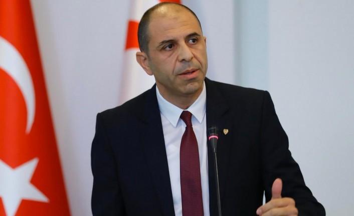 Özersay'dan Türkiyeli yetkililere tepki