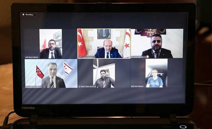 """TATAR: """"Verdiğimiz kavga, bayrağımızın gönderden inmemesi ve ezan sesinin susmamasıdır. En büyük desteğimiz ve gücümüz Türkiye'dir"""