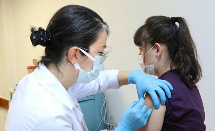 Toplam 110 bin 410 doz aşı yapıldı