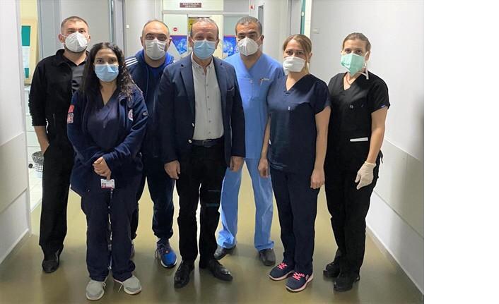 """Ataoğlu: """"Sağlık Çalışanlarının Hakkı Ödenemez"""""""