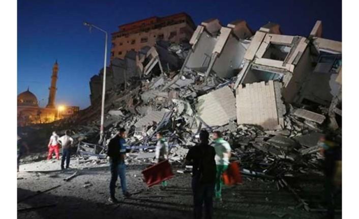 Gazze'de can kaybı 35'e yükseldi
