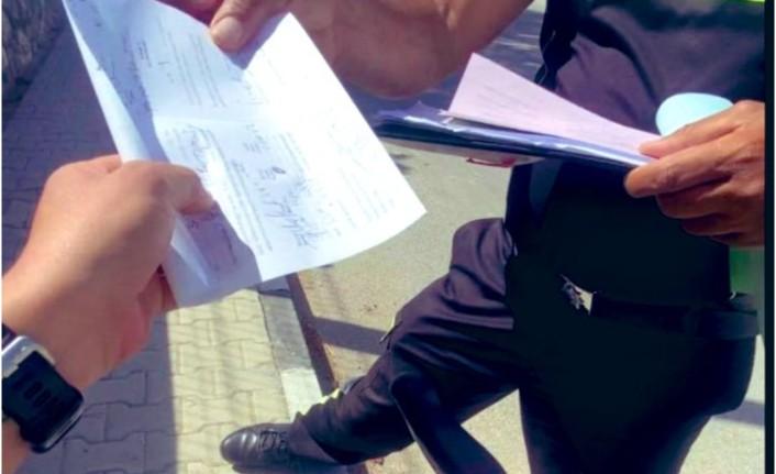 İsmet Pire'ye Bisikletini süratli ve tehlikeli sürüşten 220 TL trafik cezası