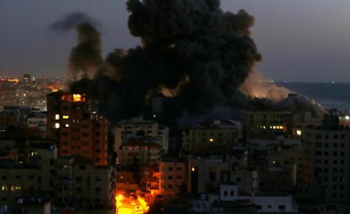 İsrail, Gazze'ye yeni saldırı düzenledi