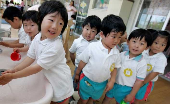 Japonya'da çocuk nüfus oranı son 40 yılın en düşüğünde