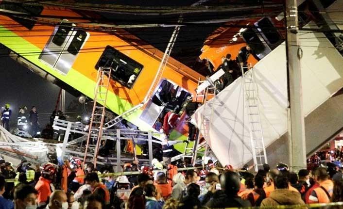 Meksika'da metro kazası: 15 kişi öldü, 70 kişi yaralandı