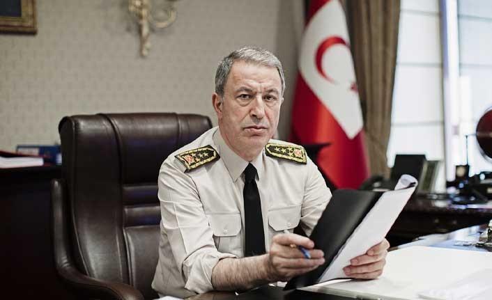 TC Milli Savunma Bakanı Akar: Kıbrıs'ta iki devletli yapı tek çözüm