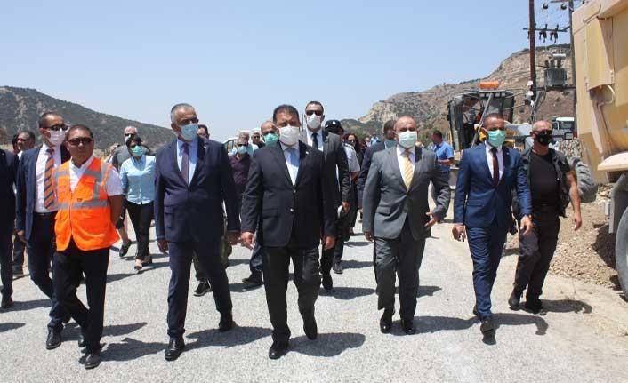 Başbakan Saner, Kaleburnu'nda Çalışmaları İnceledi