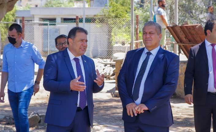 Başbakan Saner, Maraş'ta İncelemelerde Bulundu