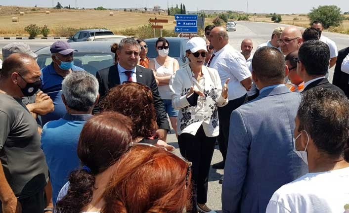 """Canaltay: """"Göz bebeğimiz olan Karpaz'ın altyapısını güçlendireceğiz"""""""