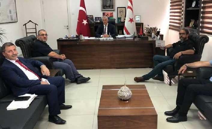 DAÜ-SEN'den Eğitim Bakanı Olgun Amcaoğlu'na ziyaret