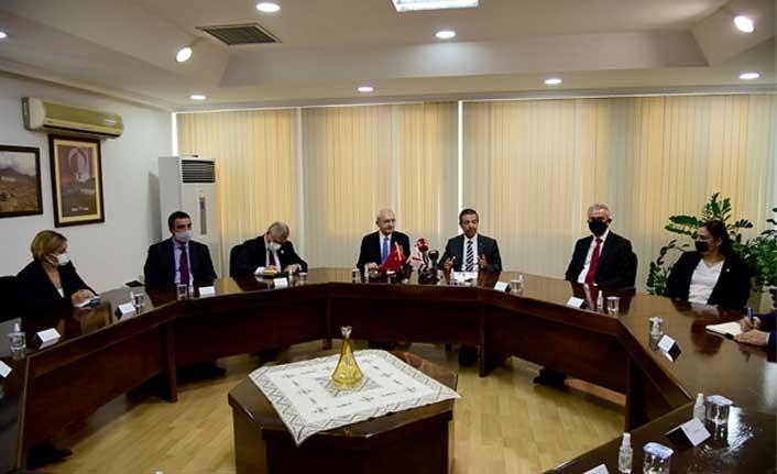 Dışişleri Bakanı Ertuğruloğlu, Chp Genel Başkanı Kılıçdaroğlu İle Görüştü