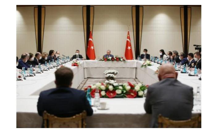 Erdoğan'dan akademisyenlerle müsilaj toplantısı!