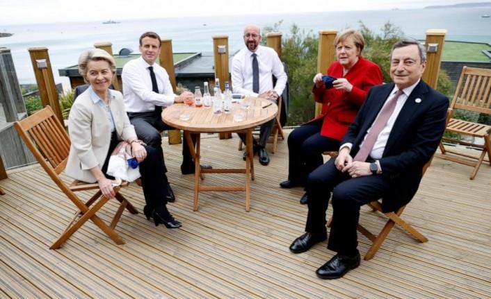 G7 Liderler Zirvesi'nde 'koronavirüs' paniği