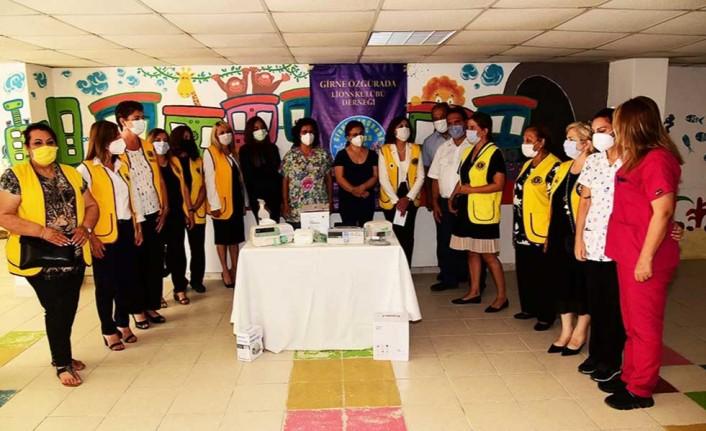 Girne Özgürada Lions Kulübü'nden Nalbantoğlu'na bağış