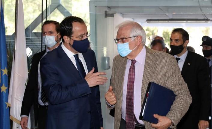 Hristodoulides ile Borrell görüştü...