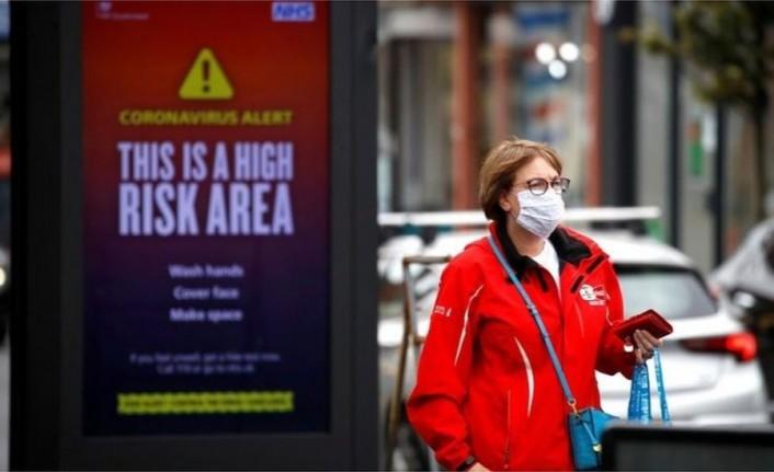 İngiltere'de koronavirüs vakalarında artış