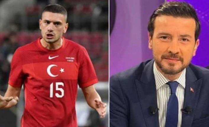 Merih Demiral'dan TRT spikeri Ersin Düzen'e çarpıcı tepki
