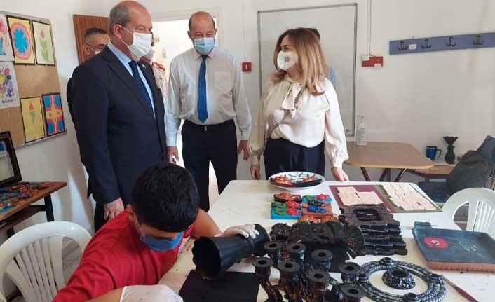 Tatar, Gazimağusa'da ziyaretlerde bulundu