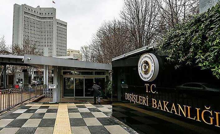 Türkiye Dışişleri Bakanlığı'ndan AB'ye sert tepki