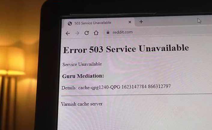 Uluslararası yayın kuruluşlarının siteleri aynı anda çöktü!