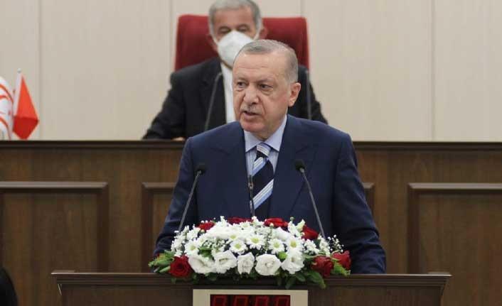 Erdaoğan:  Toplantıya katılmayan milletvekillerine başsağlığı diledi!