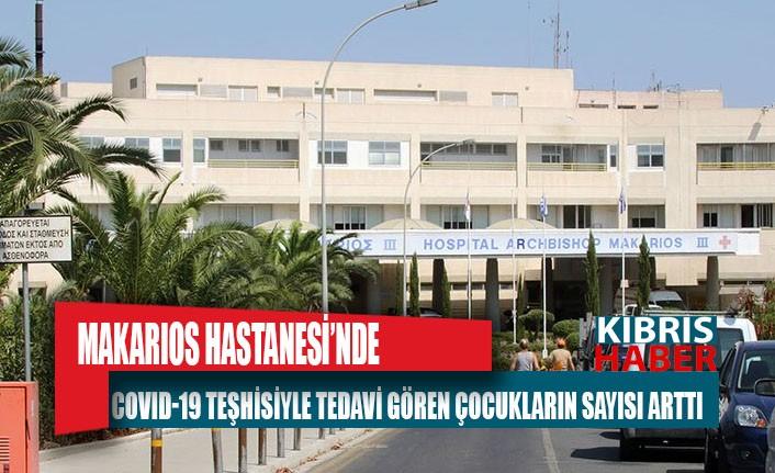 Makarios Hastanesi'nde covid-19 teşhisiyle tedavi gören çocukların sayısı arttı
