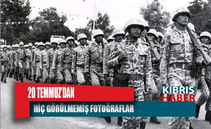 TC Milli Savunma Bakanlığı Kıbrıs Barış Harekatı'nın Tarihi Fotoğraflarını Paylaştı