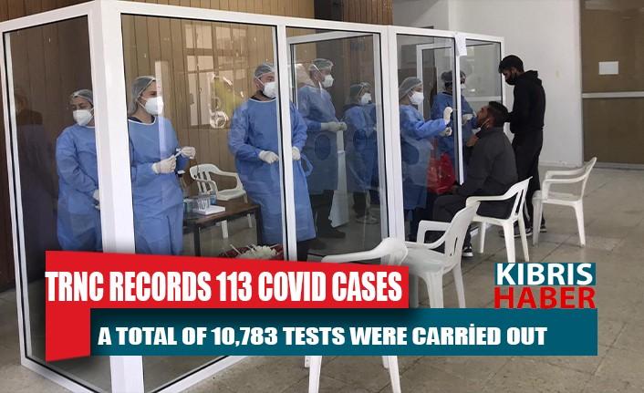 TRNC records 113 COVID cases