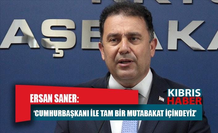Başbakan Saner: Esas konu Maraş'tı
