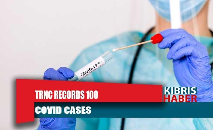 TRNC records 100 COVID cases