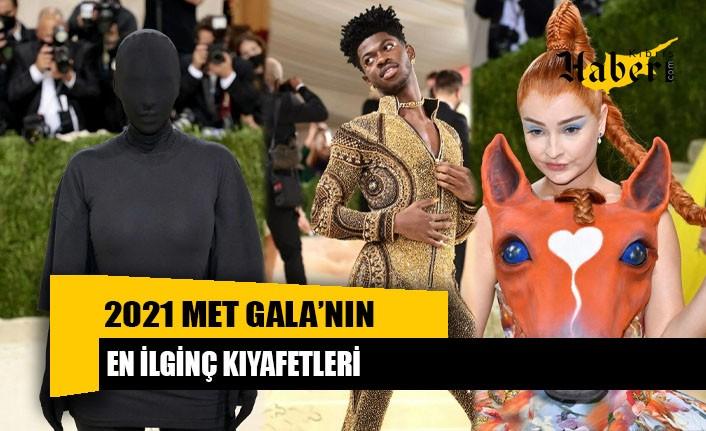 2021 MET Gala'nın en ilginç kıyafetleri